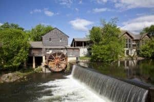 Scenic photo of The Old Mill in Pigeon Forge TN.