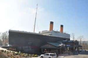 The Titanic Museum Attraction in Pigeon Forge.