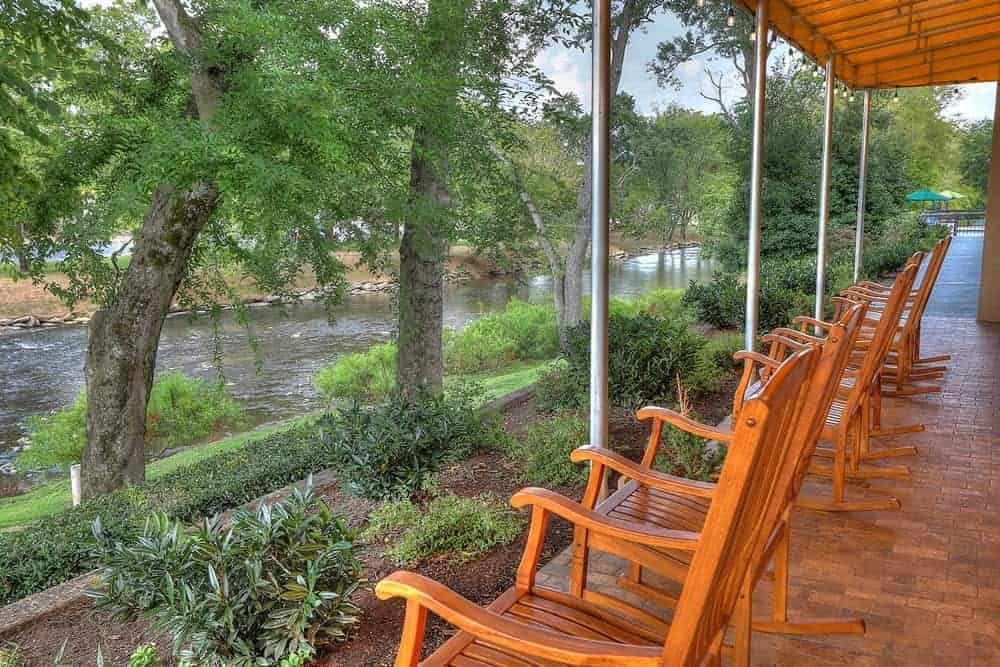 Inn on the River hotel porch