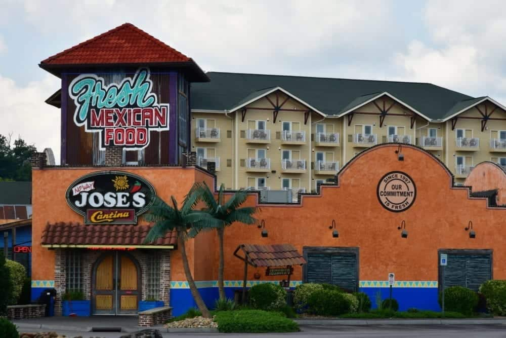 no way jose's mexican cantina in pigeon forge