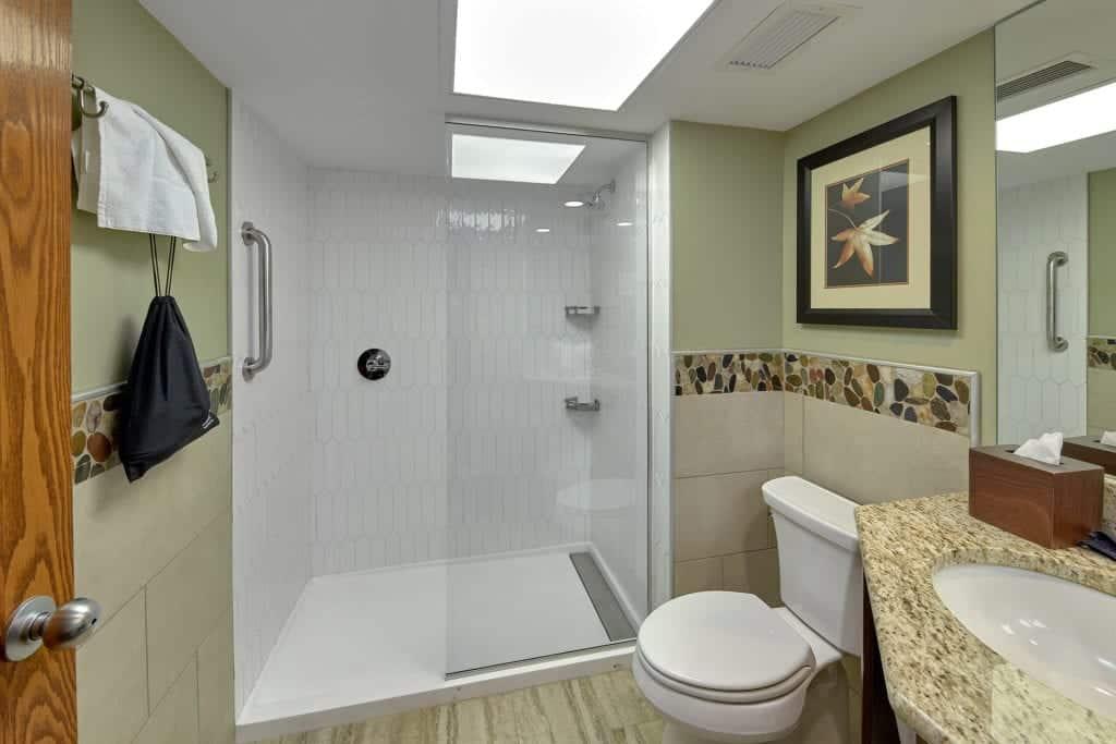 inn on the river bathroom