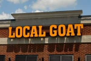 the local goat